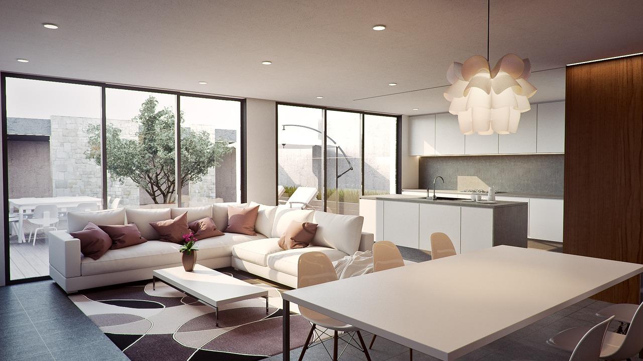 A clean modern home for a gentleman